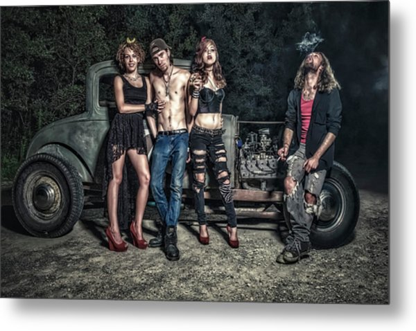 Rodders #6 Metal Print