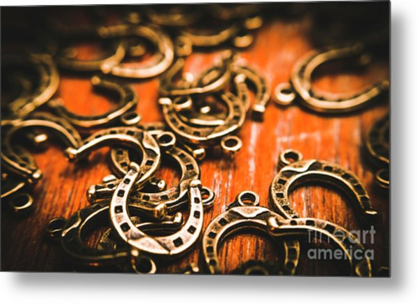 Rodeo Abstract Metal Print