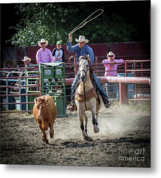 Cowboy In Action#1 Metal Print