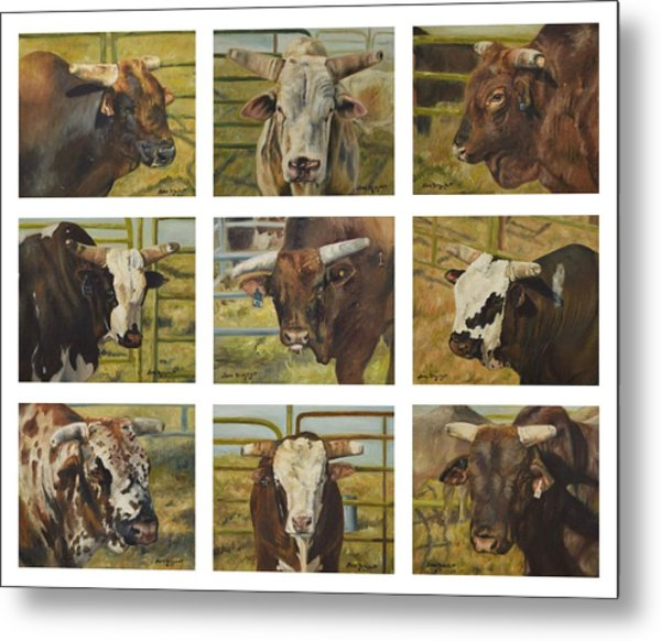 Rodeo Royalty Metal Print