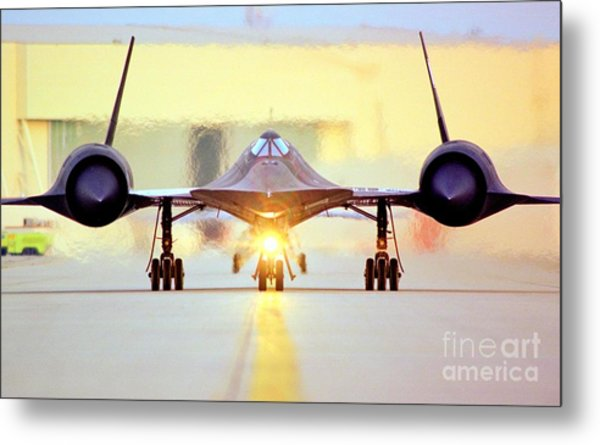 Roger That - Sr71 Jet Metal Print