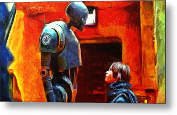Rogue One I Will Not Kill You - Pa Metal Print