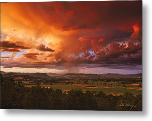 Rogue Valley Sunset Metal Print