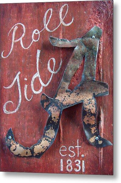 Roll Tide Metal Print