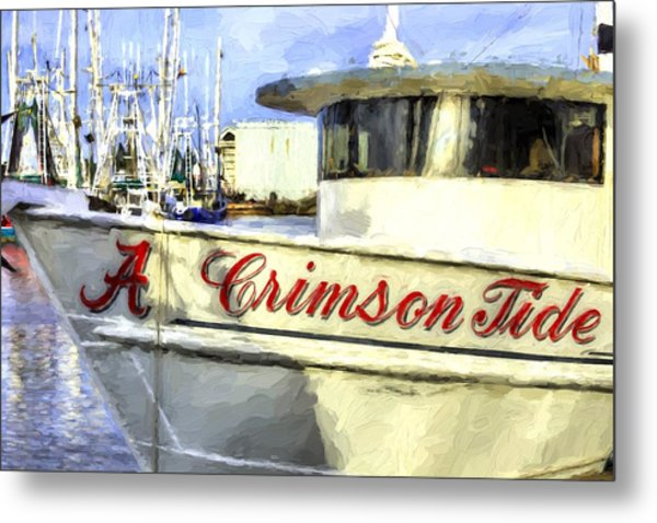 Roll Tide Roll Metal Print