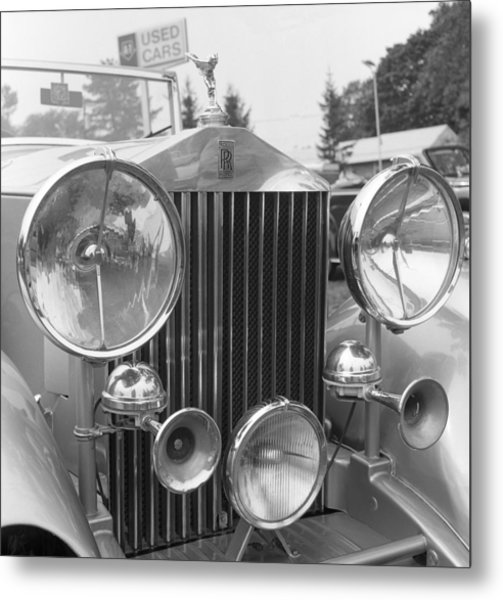 Rolls Royce A1 Used Car Metal Print by Richard Singleton