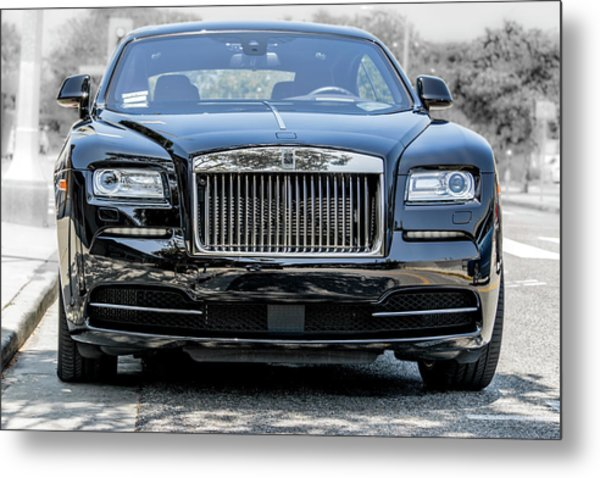 Rolls - Royce Wraith Coupe 2016 Metal Print