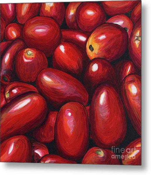 Roma Tomatoes Metal Print