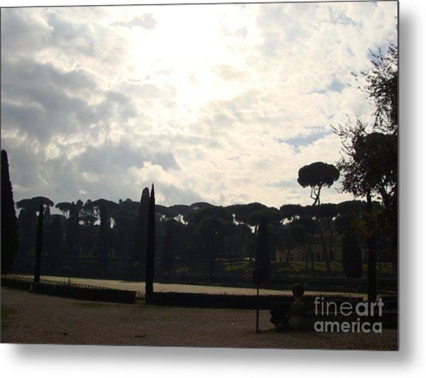Roma, Villa Borghese Metal Print