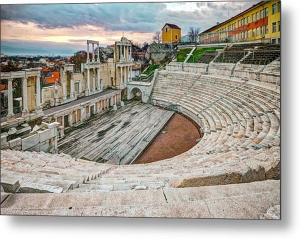 Roman Coliseum Plovdiv Metal Print