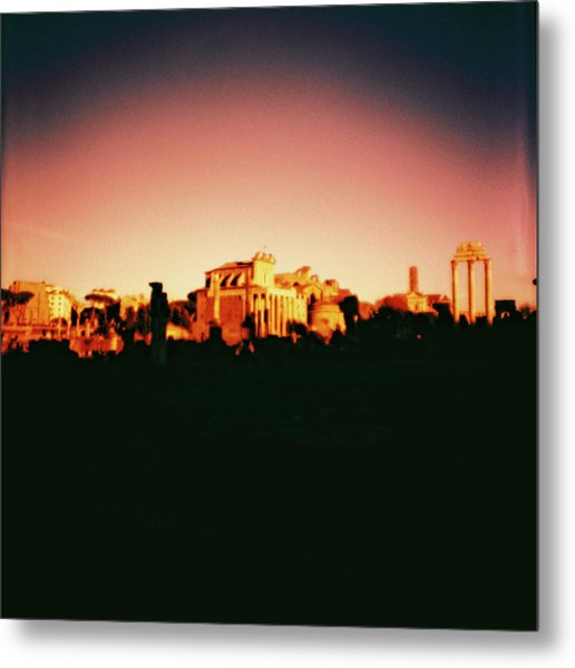 Roman Imperial Forum Metal Print