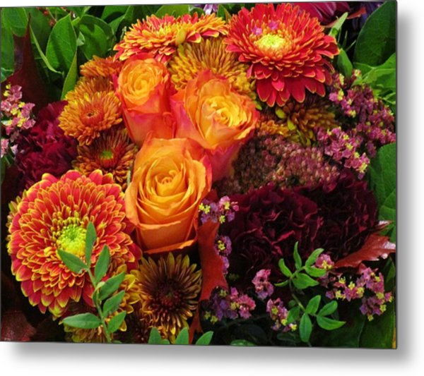 Romance Of Autumn Metal Print