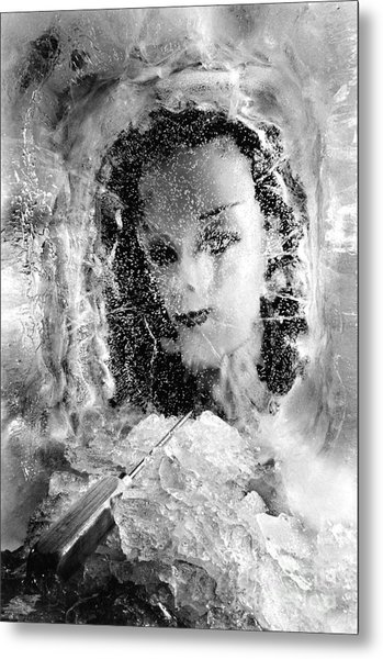 Romancing The Ice Princess Metal Print