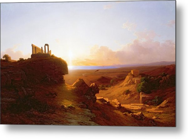 Romantic Landscape Metal Print