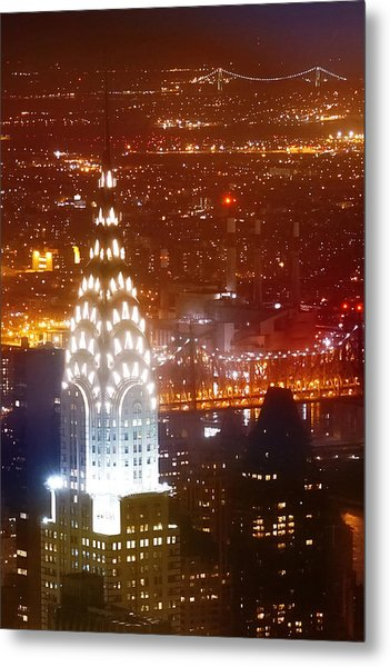 Romantic Manhattan Metal Print