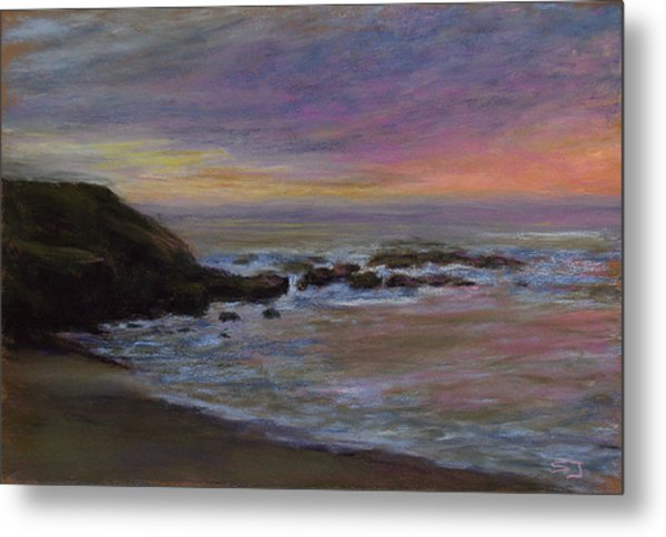 Romantic Shore Metal Print
