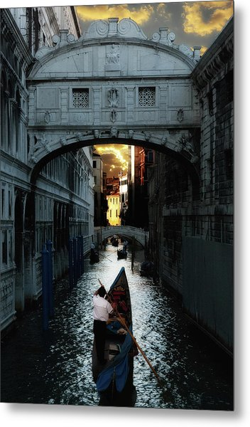 Romantic Venice Metal Print