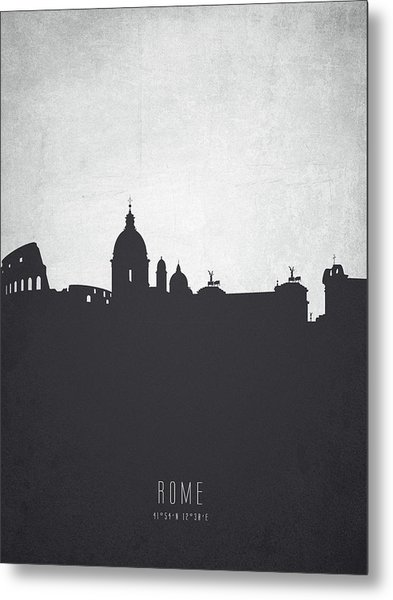 Rome Italy Cityscape 19 Metal Print