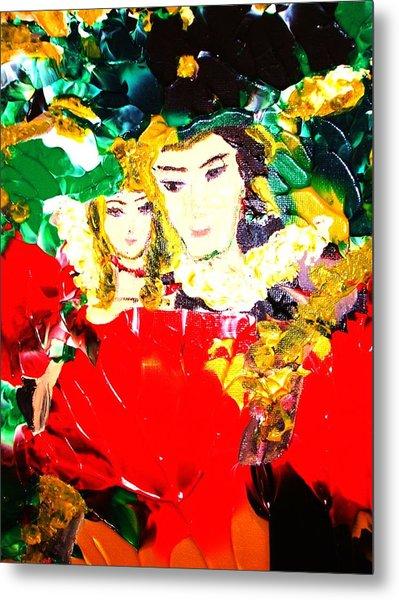 Romeo And Juliet Metal Print by Carmen Doreal