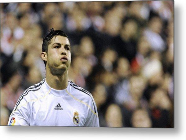 Cristiano Ronaldo 27 Metal Print