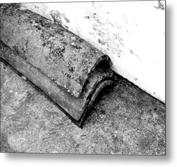 Roof Tiles - Sao Miguel - Azores Metal Print by Henry Krauzyk