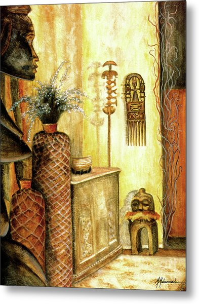 Room With A View Metal Print by Marcella Muhammad
