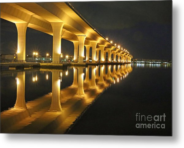 Roosevelt Reflection Metal Print