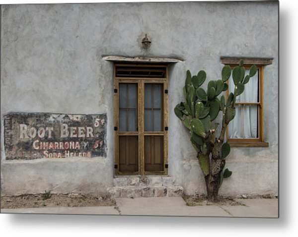 Root Beer And Chardonnay? Metal Print