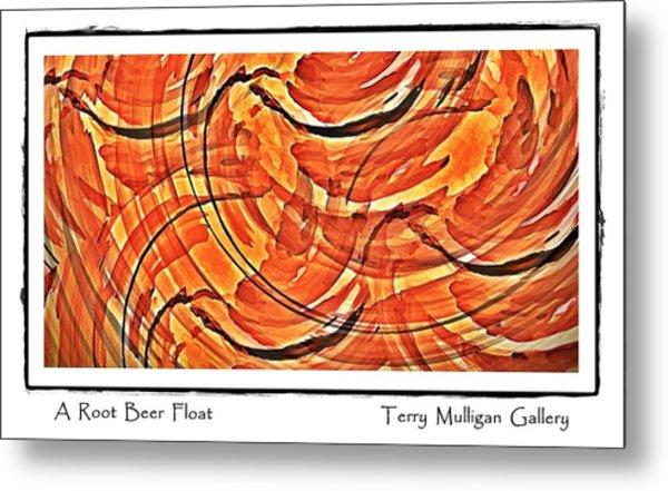 Root Beer Float Metal Print by Terry Mulligan