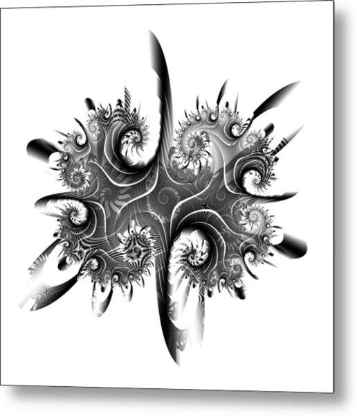 Rorschach Metal Print by David April