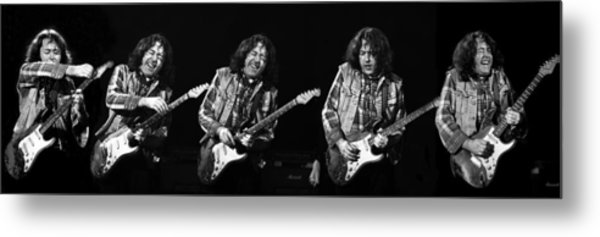 Rory Gallagher 5 Metal Print