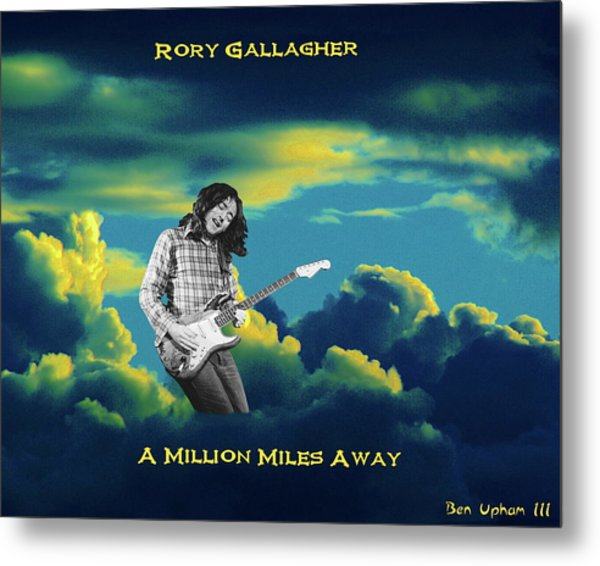 Million Miles Away Metal Print