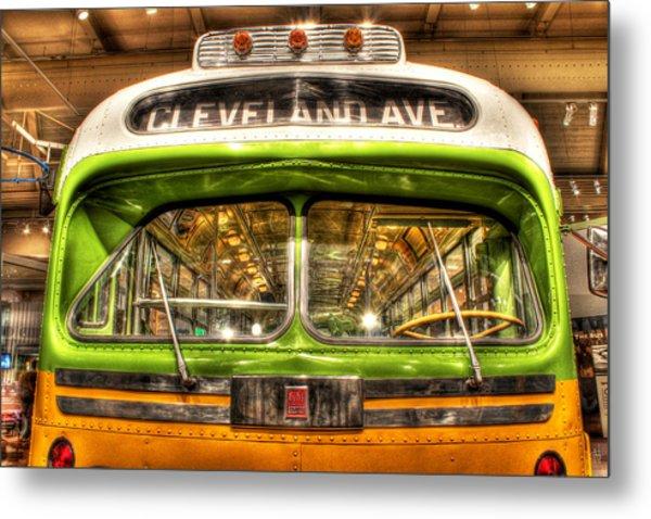 Rosa Parks Bus Dearborn Mi Metal Print