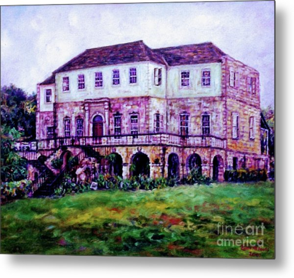 Rose Hall Great House Metal Print