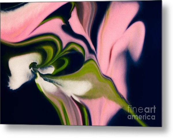 Rose With No Thorns Metal Print