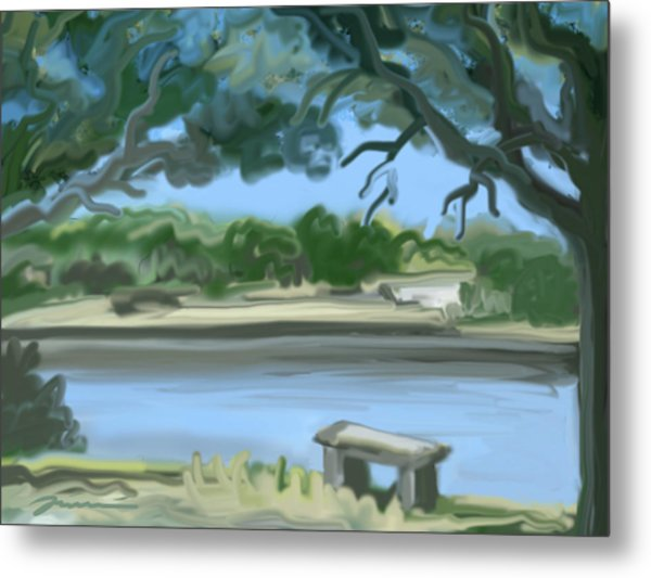 Rosemary Lake Metal Print