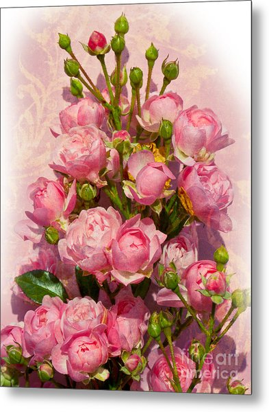 Roses Decor Metal Print by Lutz Baar