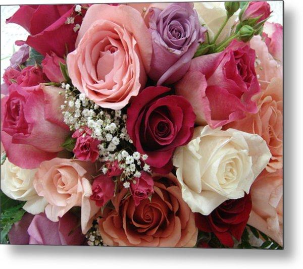 Roses Roses Roses Metal Print