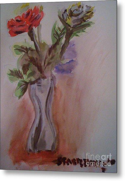 Roses Metal Print by Stan Levine