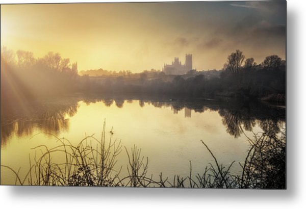 Roswell View Metal Print