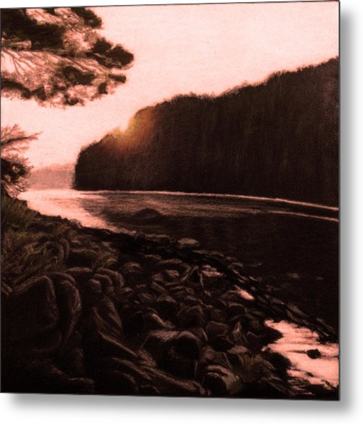 Rosy Glow Of Morning Metal Print