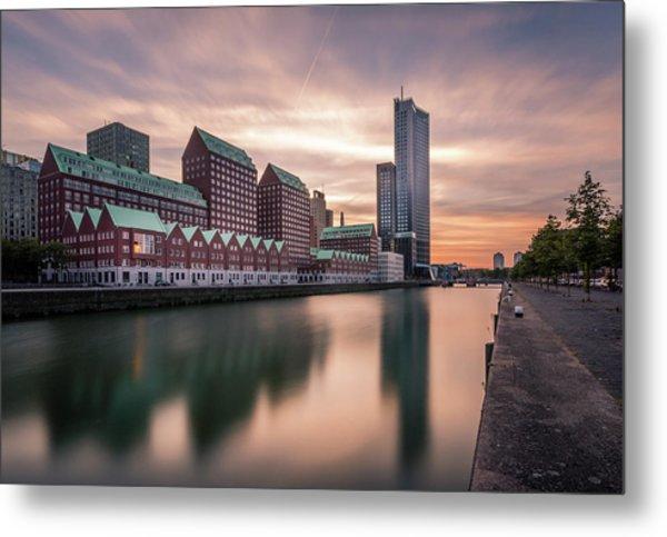 Rotterdam Spoorweghaven Metal Print
