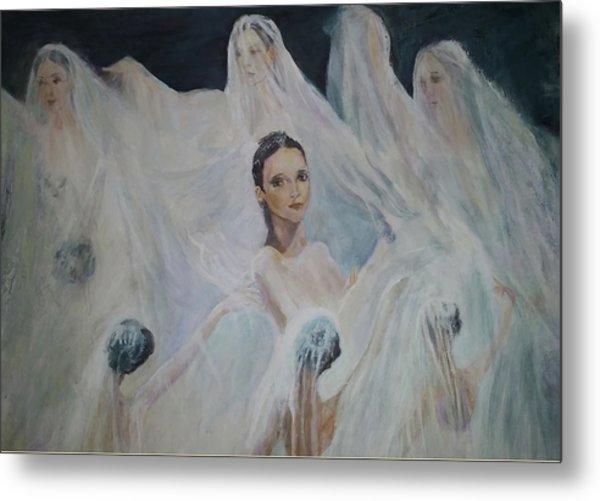 Roundelay. Ballet Dancers Metal Print