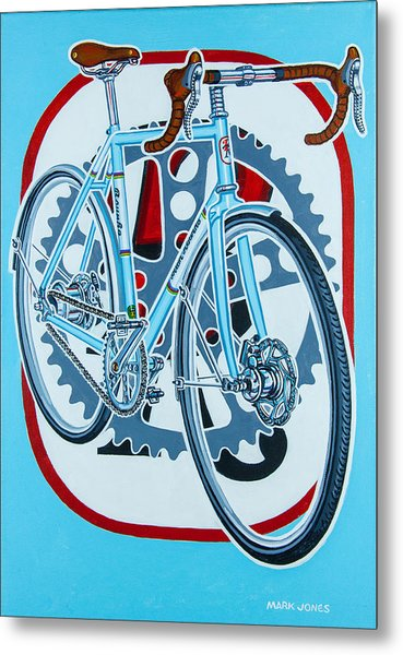 Rourke Bicycle Metal Print