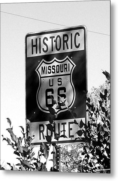 Route 66 Metal Print by Audrey Venute