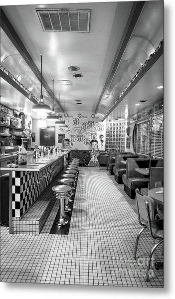Route 66 Diner  Metal Print