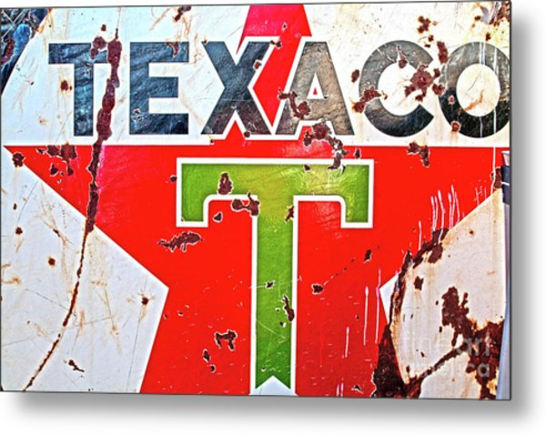 Route 66-texaco Metal Print