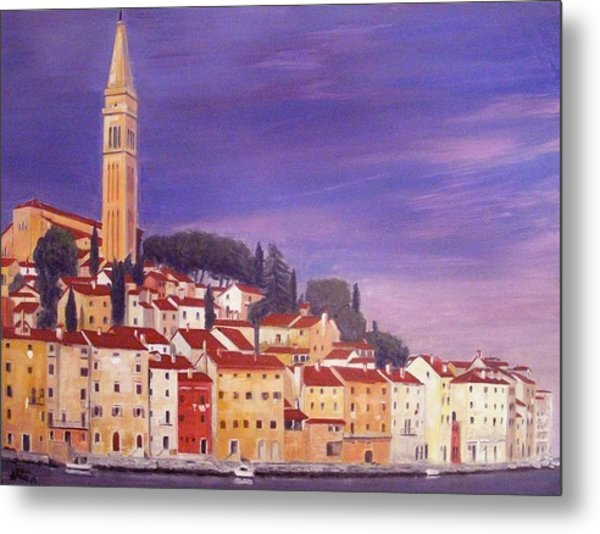 Rovinj Metal Print by Anthony Meton
