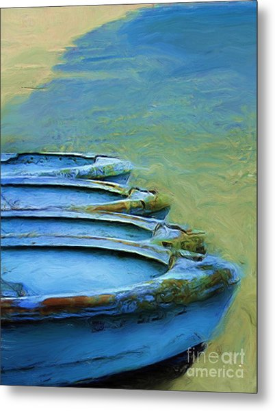 Rowboats Metal Print by Tom Griffithe