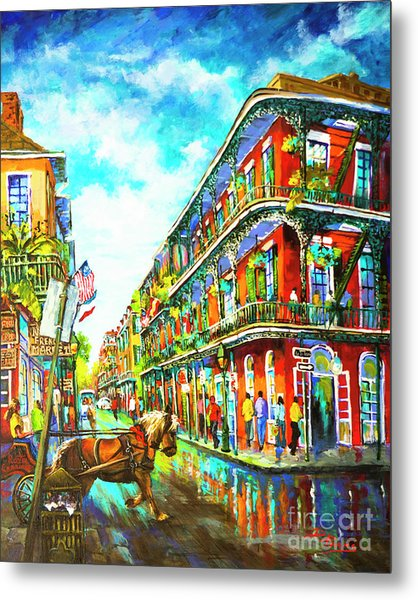 Royal Carriage - New Orleans French Quarter Metal Print